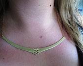 Bronze Tribal Breastplate Necklace