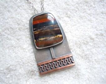 Tiger Iron Jewelry | Tree Jewelry | Artisan Jewelry | Tree Necklace