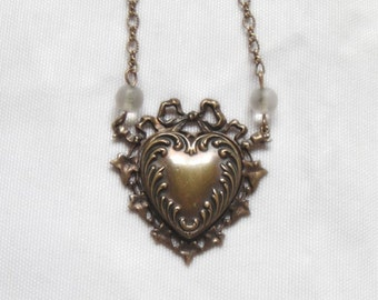 Pididdly Links Heart Necklace - Collectible - Vintage