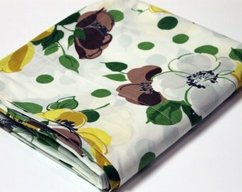 SALE Retro Floral Sheet Sheet