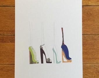 Shoes 8x10 Print