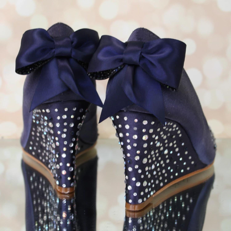 Navy Blue Wedding Shoes Blue Wedding Shoes Wedding Wedges