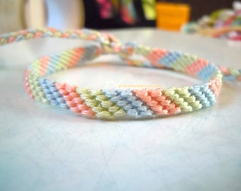 Custom Friendship Bracelet - Thin