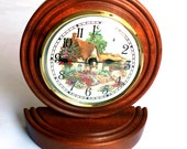 Vintage German Clock Hechinger West Germany Great Item Excellent Condition