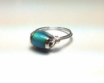 Sterling Silver Mood Ring - Made to Order