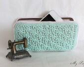 Wallet - Crochet Wallet - Flat Wallet - Clutch Wallet - Fabric Wallet - Etsy Gifts