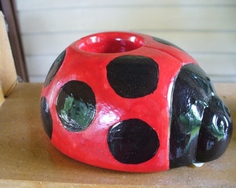 Ladybug Tea Light