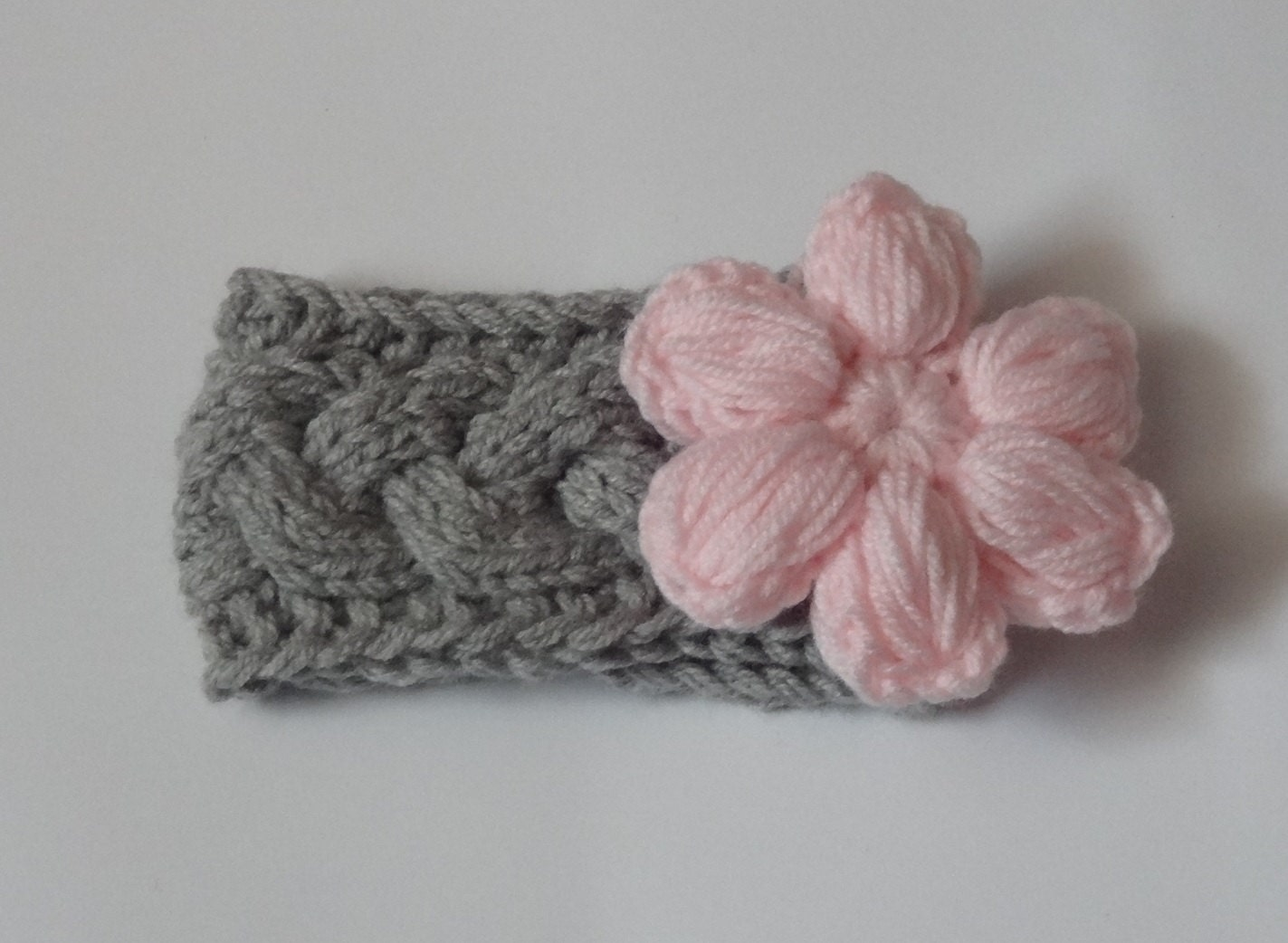 Knitting Headband For Baby : Knit baby headband cable