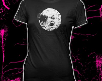 A Trip To The Moon - Georges Méliès - Women's Pre-shrunk 100% Cotton T-Shirt