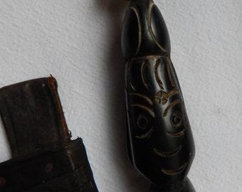 Antique/Vintage Primitive Tribal Cibao Sword Dagger w/Bird Handle / Handmade Weapons