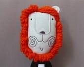 Mr. Lion Heart 208 - Lion Plush Soft Toy stuffed Doll Plushie Softie