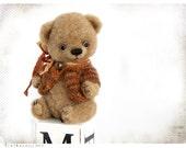 Artist Teddy Bear Cozy sweet Bo OOAK 8 inch