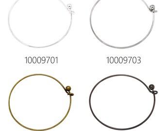 5PCS 1.5mm Expandable Bracelet Wire Bracelet Bangle Bracelet Charm Bracelet Adjustable Charm Bracelet Bangle 100097