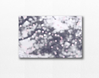 abstract photography canvas print bokeh photography canvas 12x18 24x36 fine art photography bokeh canvas art large abstract canvas art gray