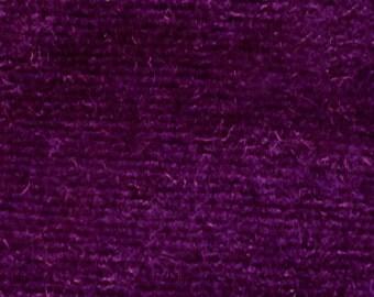 CVC Cotton Velour Fabric by the Yard (Raspberry)