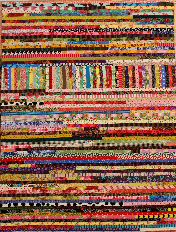 Pastiche Quilt Pattern Scrap Quilt String Quilt Unique