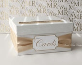 Wedding Card Box Money Box (Small Size)  - Custom Made to Order