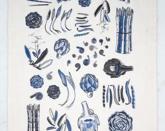 Spring Vegetables - Cobalt