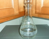 Clear Glass Whiskey/Wine Decanter