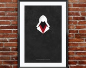 Assassin's Creed Hood print 11X17""