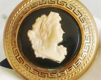 REDUCED  Jerry Cameo in the Greecian Style Brooch
