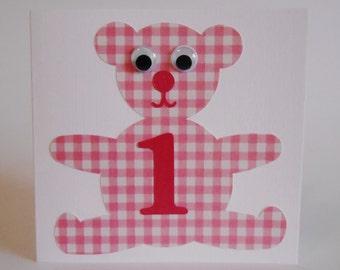 Pink Teddy Bear no. 1