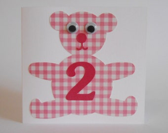 Pink Teddy Bear no. 1