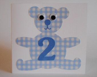 Blue Teddy Bear no. 2