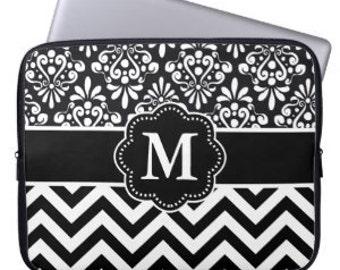 Monogram Personalized iPad 2 3 4 Sleeve - YOU CHOOSE DESIGN