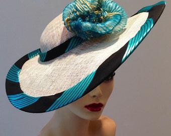 SAMPLE Summer straw hat