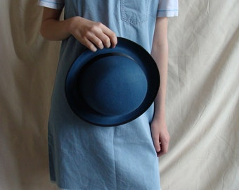 Gorgeous Blue Bowler Hat