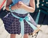 Girls Skirt pattern - Scooter tutorial pdf instant download