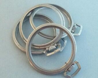 Pocket watch bezels supplies  Watch repair Steampunk Vintage Craft supplies G1505