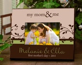 Personalized Frame for Moms : Great for Mother's Day, New Moms, Grandmas, Aunts, or a Favorite Memory