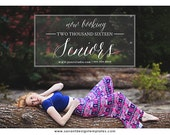 Now Booking Senior Marketing Photoshop Template, Senior Overlay for photographers, INSTANT DOWNLOAD, SM201