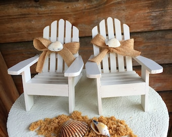 Adirondack Beach Chair Wedding Cake Toppers Topper Chairs