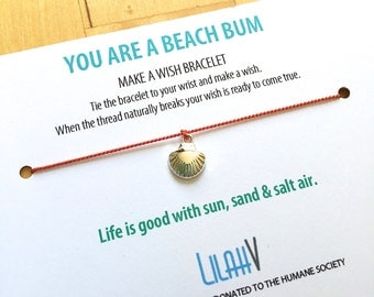 You are a BEACH BUM >> silver shell