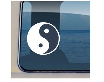 Yin Yang Decal Chinese Symbol Vinyl Sticker - 324