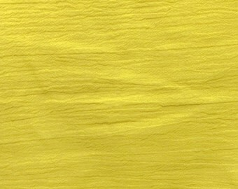 """54"""" Yellow Gauze Fabric-15 Yards Wholesale by the Bolt"""