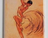 Josephine Baker Poster Fridge Magnet