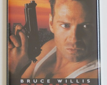 Die Hard Movie Poster Fridge Magnet