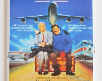 Planes, Trains, and Automobiles Movie Poster Fridge Magnet