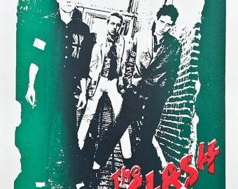A2 size  Clash tour poster 1978