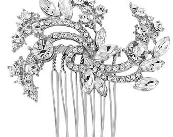 Diana Crystal Bridal Hair Comb