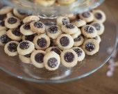Mini chocolate chip cookies for weddings, baby showers, birthdays, Easter, corporate gifts or teacher gifts