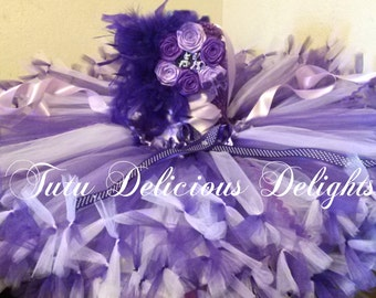 Purple and Lavender My Little Pony Inspired Petti tutu dress, My Little Pony Party, My little Pony Dress, Kids Birthday Tutus, Photo Props