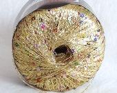Clearance 43% Off  PALILA Metallic Lace yarn by Austermann 25g/0.88oz