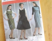 Misses Dress - Simplicity 3673 - 1950s Retro Reprint -  Size 6-14