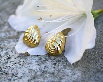 Vendome Gold Tone Post Earrings