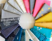 Imprint by Katarina Roccella for Art Gallery Fabrics, Fat Quarter or Half Yard Bundle, COMPLETE